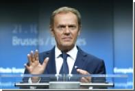 Дональд Туск переизбран председателем Европейского Совета