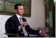 Президент Сирии заявил о невозможности сотрудничать с Трампом