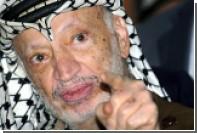 В арабском городе Джатт на севере Израиля убрали таблички с именем Арафата