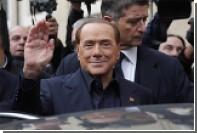 Итальянка заплатила 70 тысяч евро за ужин с Берлускони