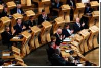 Парламент Шотландии одобрил новый референдум о независимости региона