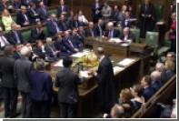 Палата общин парламента отвергла поправки к биллю о Brexit