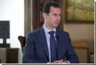 Асад возложил на Евросоюз вину за распространение терроризма