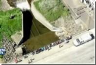 В Калифорнии морской лев застрял в сельскохозяйственном канале
