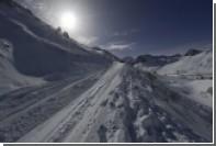 Голландцев накрыло лавиной во французских Альпах