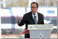 Олланд назвал недопущение Ле Пен к власти своей святой обязанностью