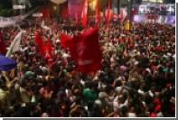 Протестующие против пенсионной реформы захватили Минфин Бразилии