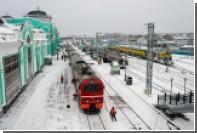 РЖД сообщили о штатном движении поездов через границу с Украиной
