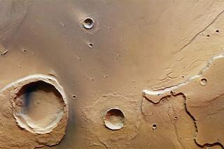 Следы мощнейшего потопа нашли в районе равнины Хриса на Марсе