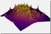 Представлена карта «темных мест» Вселенной