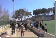 В Испании родители устроили массовую драку на детском футбольном матче