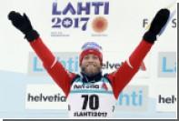 Снегоход сбил норвежского лыжника Сундбю во время марафона