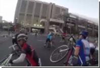 Порывистый ветер сорвал велогонку в Кейптауне