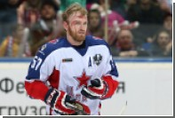Судья рассказал о слетевшей крыше дисквалифицированного хоккеиста ЦСКА