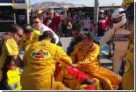 Американские пилоты подрались после гонки серии NASCAR