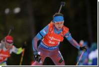 Российская биатлонистка Виролайнен досрочно победила в общем зачете Кубка IBU