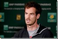 Британец Маррей раскритиковал wild card для Шараповой на турнир в Риме