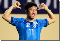 Жена футболиста сборной Китая потребовала выгнать его из команды за измену