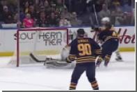 Кросби поразил ворота броском с одной руки и лишился двух зубов в матче НХЛ