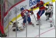 Радулов травмировал Анисимова в матче НХЛ