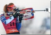 Чешская биатлонистка Коукалова отказалась от поездки на этап Кубка мира в Тюмень