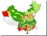 Китайские фамилии пересчитали и нанесли на карту