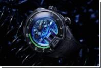 HYT создал часы с флуоресцентными наночастицами