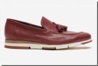 Alberto Guardiani раскрасил подошвы обуви в камуфляж