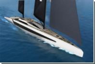 Итальянцы предложили проект парусной яхты с балкончиками