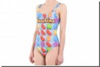 Джереми Скотт перенес игру Candy Crush на купальники