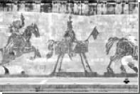 В Риме вандалы изрисовали монументальную 550-метровую фреску Уильяма Кентриджа