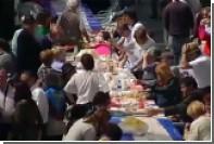 Участники уличного застолья в Испании побили мировой рекорд
