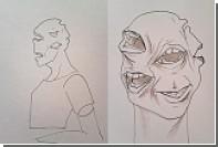 Художница сделала скульптуру из гнилых человеческих зубов