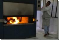 Тучный покойник вызвал пожар в американском крематории