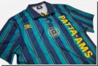 Umbro сшил футбольную форму в духе 1990-х годов