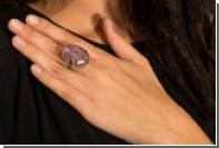 Крупнейший розовый бриллиант продали за 71 миллион долларов