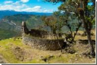 Крепость в Перу на высоте три тысячи метров открыли для туристов