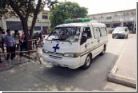 Нетрезвый россиянин на внедорожнике врезался в пьяного мотоциклиста в Камбодже