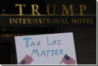В «Налоговом марше» против Трампа приняли участие тысячи протестующих