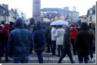 В Бордо прошла акция протеста против митинга Марин Ле Пен