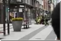 В сети появилось видео с места наезда грузовика на людей в Стокгольме