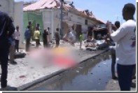 В сети появилось видео с места теракта в Могадишо