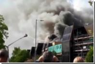 В одной из больниц Манчестера начался сильный пожар