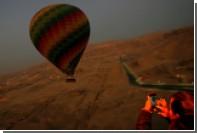 В Турции разбился воздушный шар с туристами