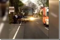Появилось видео с места взрывов около автобуса ФК «Боруссия»