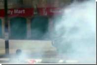 Израильские полицейские применили слезоточивый газ против палестинцев в Вифлееме