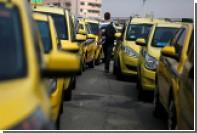 Тысячи испанских таксистов вышли на улицы из-за Uber