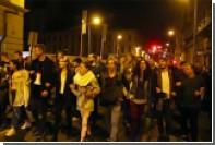 Акции протеста в Будапеште вылились в столкновения