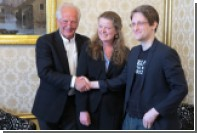Сноудену вручили премию Норвежского ПЕН-центра