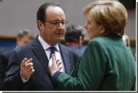 Меркель и Олланд назвали удар США по Сирии наказанием за применение химоружия